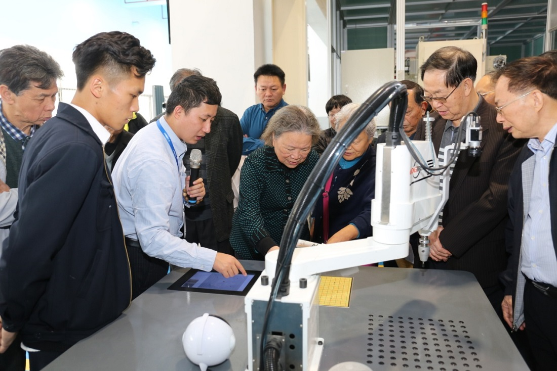 The Director of Guangdong Cares for the Next Generation Working Committee Zhang Guoying and Her Entourage Came to Visit the Greatoo (Guangzhou) Research Institute