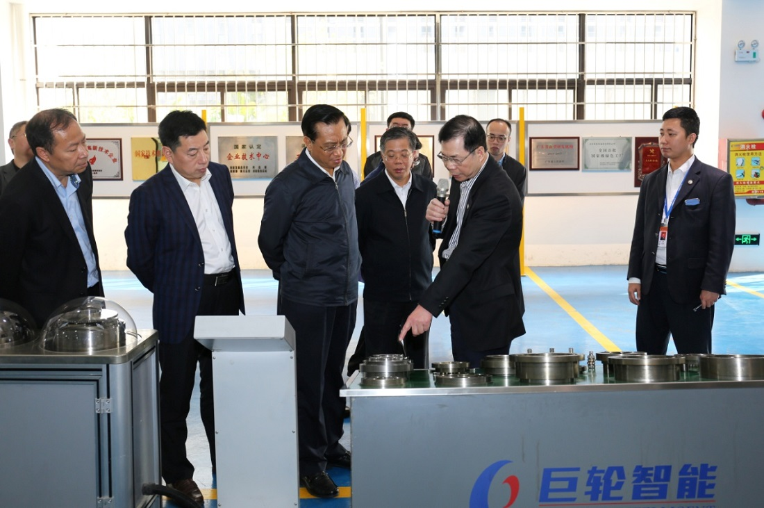 Vice Governor of Guangdong Province, Chen Liangxian, Came to Visit Greatoo(Guangzhou)Robots and Intelligent Manufacturing Co.,Ltd. with His Entourage