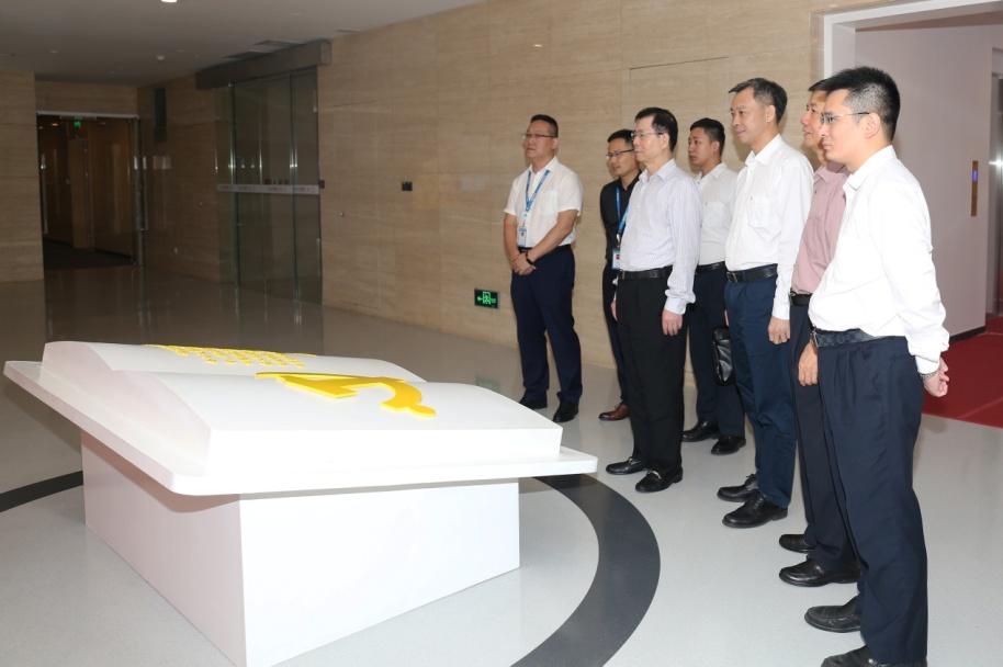 巨轮智能吴潮忠董事长率领考察组  赴珠三角地区考察调研
