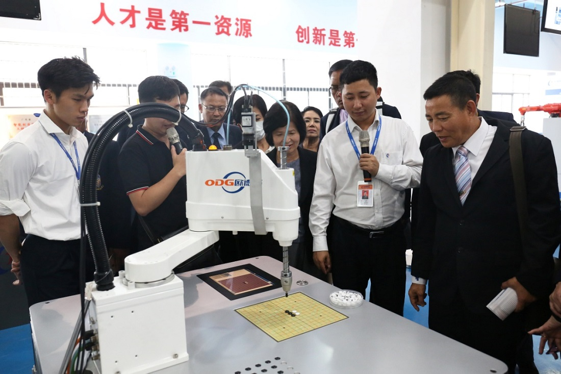 A Study Mission of the Ministry of Education of the Central Government of Thailand Came to Visit Greatoo (Guangzhou) Robots and Intelligent Manufacturing Co.,Ltd.