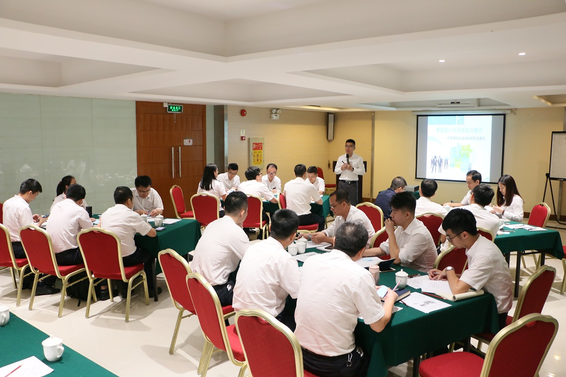 First-time Training Development Activities of Internal Trainer