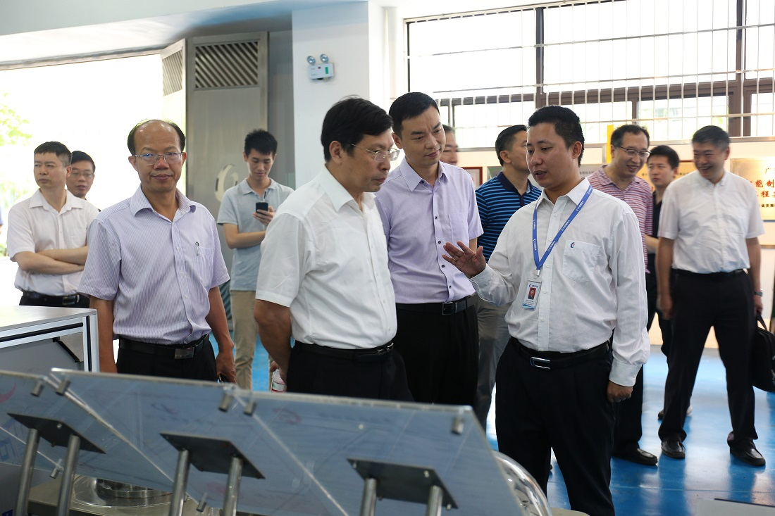 The Research Team of the Guangzhou Economic Committee of Municipal and District Political Consultative Conference Visited Greatoo (Guangzhou) Robots and Intelligent Manufacturing Co.,Ltd.